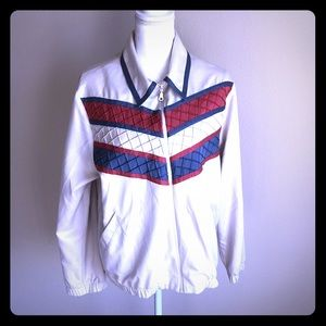 Alfred Dunner Women's sz 14 polyester track jacket